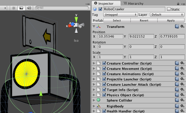 Tyrus: posts — What's it like to make a game in Unity?